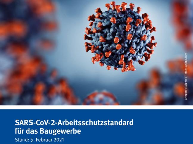 BG BAU veröffentlicht überarbeitete Version des SARS-CoV-2-Arbeitsschutzstandard für das Baugewerbe
