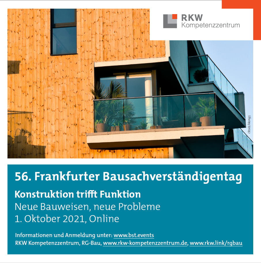 56. Frankfurter Bausachverständigentag